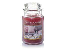 YANKEE CANDLE Grosse Kerze im Glas Home Sweet Home