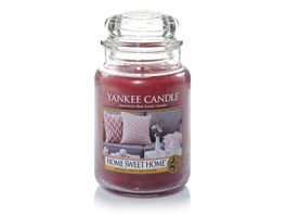 YANKEE CANDLE Home Sweet Home Grosses Glas