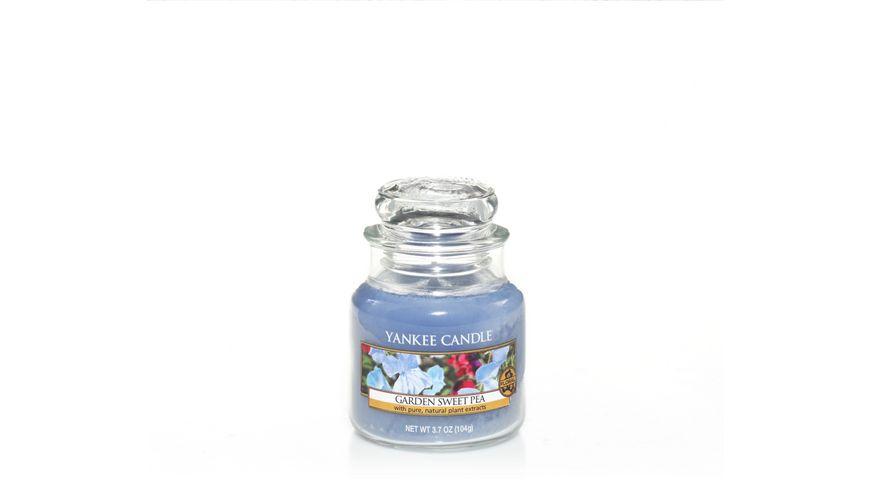 YANKEE CANDLE Garden Sweet Pea Kleines Glas
