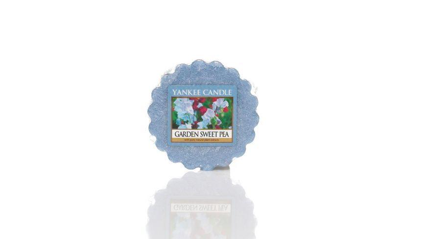 YANKEE CANDLE Garden Sweet Pea Tart Waxmelt