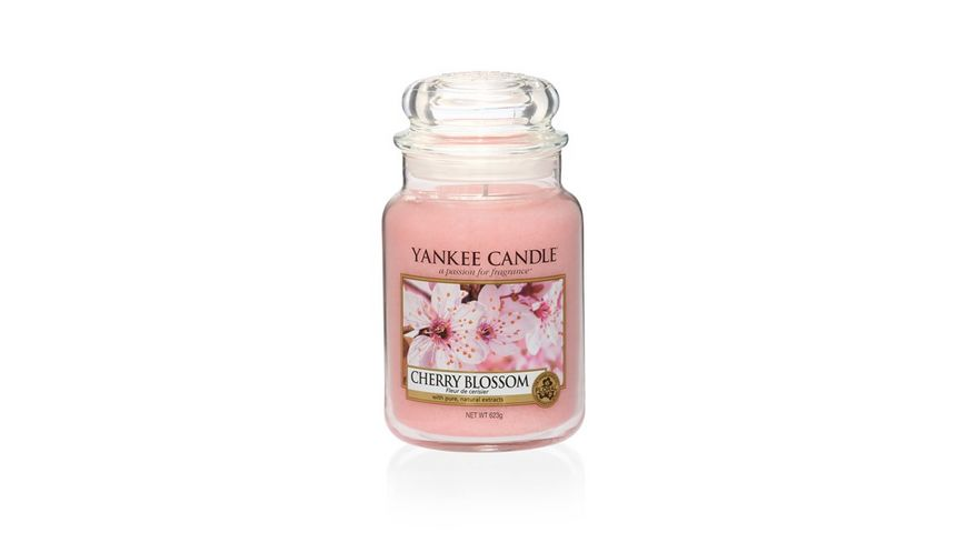 YANKEE CANDLE Cherry Blossom Grosses Glas
