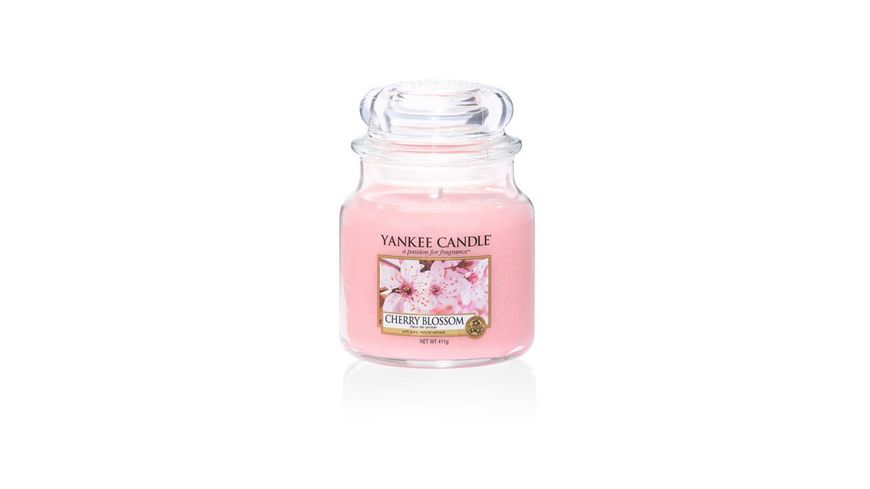 YANKEE CANDLE Cherry Blossom Mittleres Glas