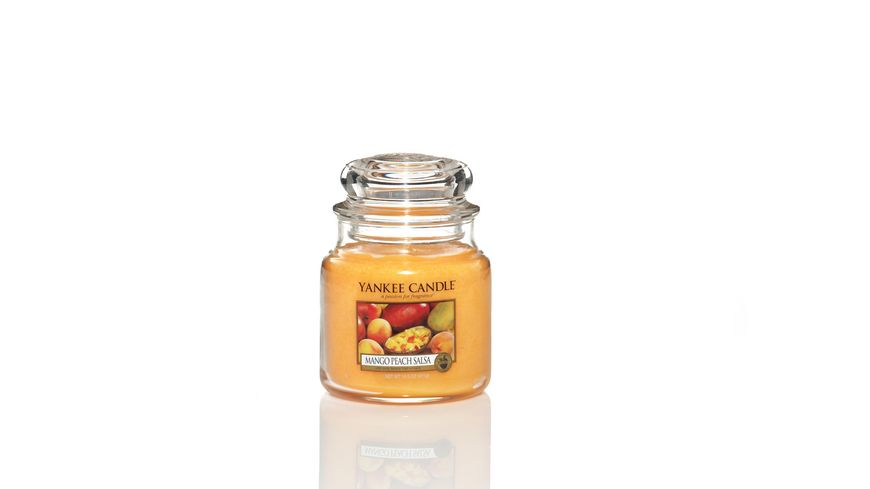 YANKEE CANDLE Mango Peach Salsa Mittleres Glas