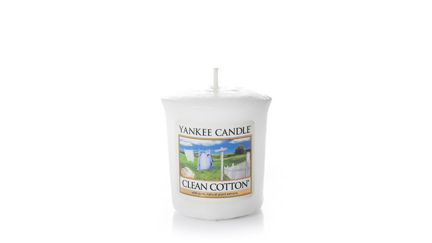 YANKEE CANDLE Clean Cotton Sampler Votivkerze