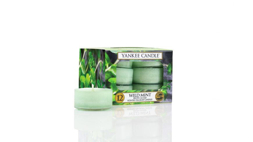 YANKEE CANDLE Wild Mint Teelicht