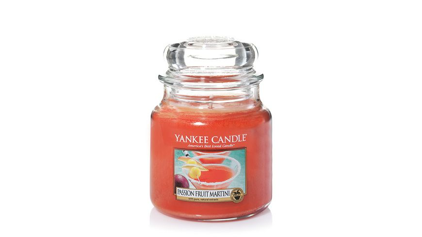 YANKEE CANDLE Passionfruit Martini Mittleres Glas