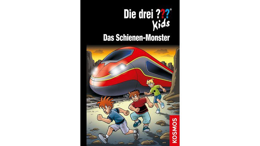 Buch KOSMOS Die drei Kids 74 Das Schienen Monster