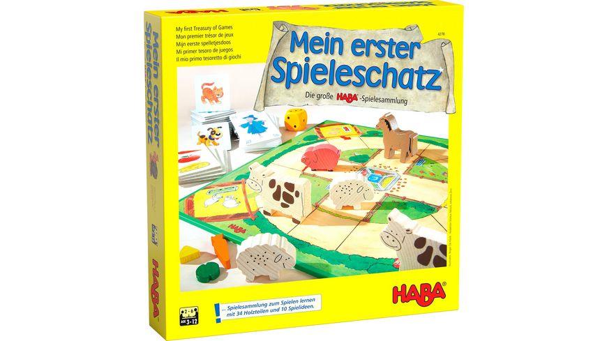 HABA Mein erster Spieleschatz Die grosse HABA Spielesammlung