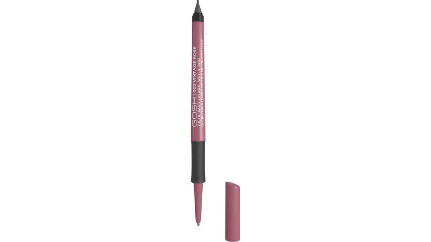 GOSH The Ultimate Lipliner With A Twist