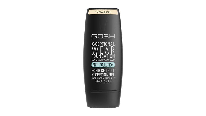 GOSH X Ceptional Wear Foundation