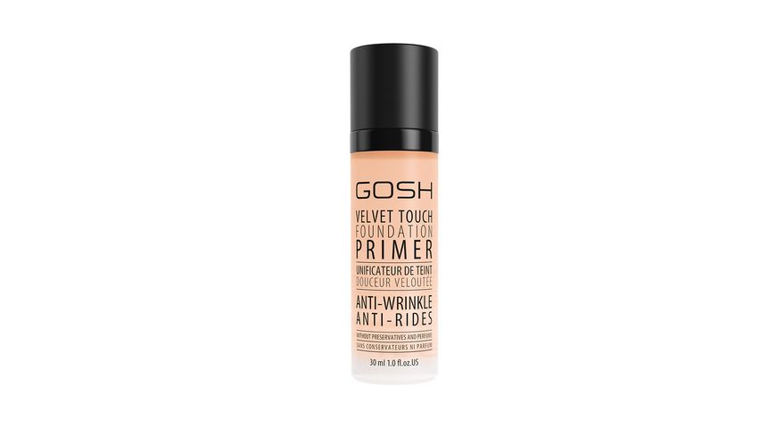 GOSH Velvet Touch Foundation Primer Anti Wrinkle