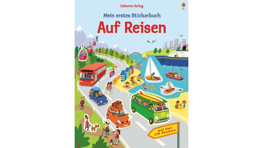 Buch Usborne Verlag Mein erstes Stickerbuch Auf Reisen