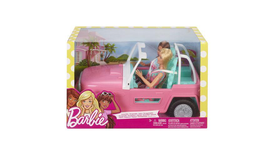 Mattel Barbie Auto mit zwei Barbies