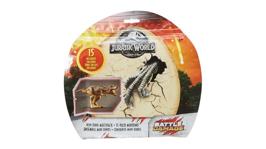 Mattel Jurassic World Mini Dino 15er Set