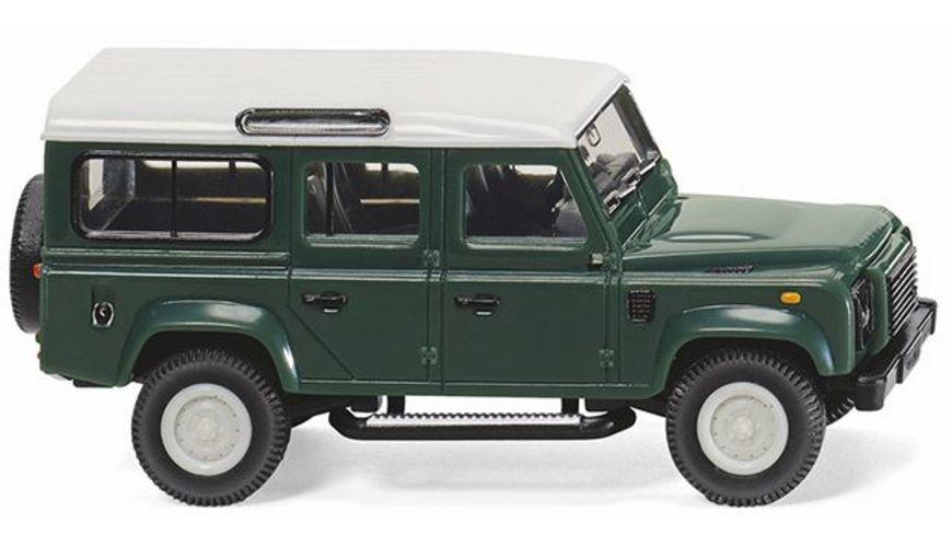 WIKING 010202  Neuheit 2018: Land Rover Defender 110   keswick green 1:87