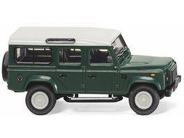 Wiking 0102 02 Neuheit 2018 Land Rover Defender 110 keswick green 1 87