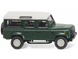 WIKING 010202 Neuheit 2018 Land Rover Defender 110 keswick green 1 87