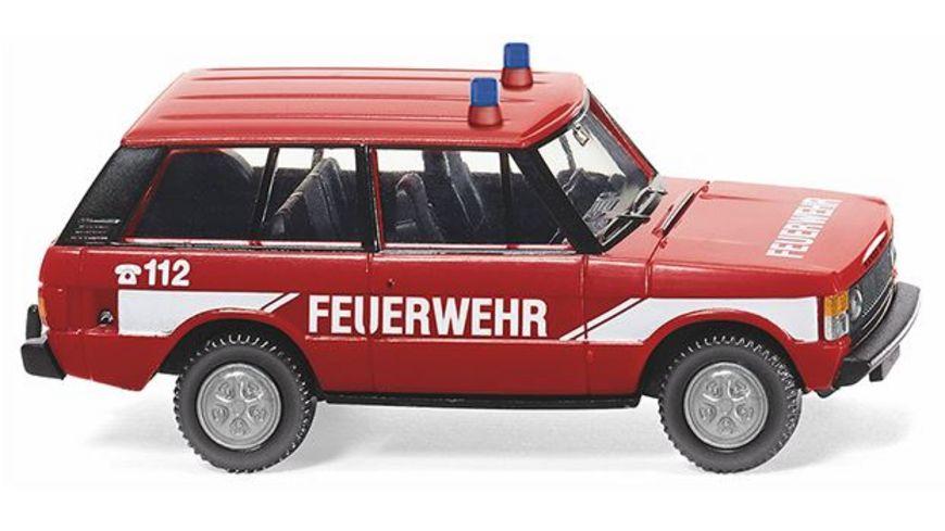 WIKING 010503 Neuheit 2018 Feuerwehr Range Rover 1 87