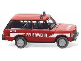 Wiking 0105 03 Neuheit 2018 Feuerwehr Range Rover 1 87