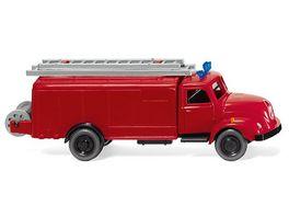 Wiking 0610 02 Feuerwehr Spritzenwagen Magirus S 3500 1 87