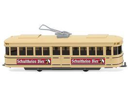 Wiking 0750 01 Strassenbahn Triebwagen Schultheiss Bier 1 87