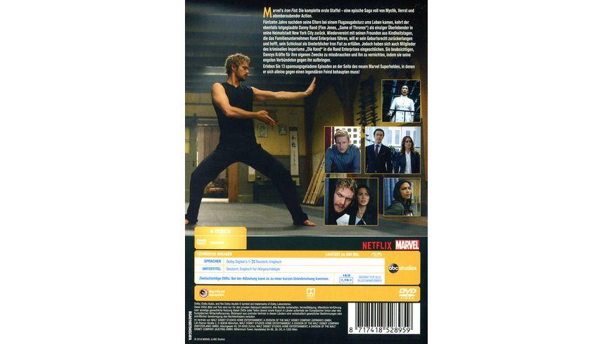 Marvel s Iron Fist Die komplette 1 Staffel 4 DVDs