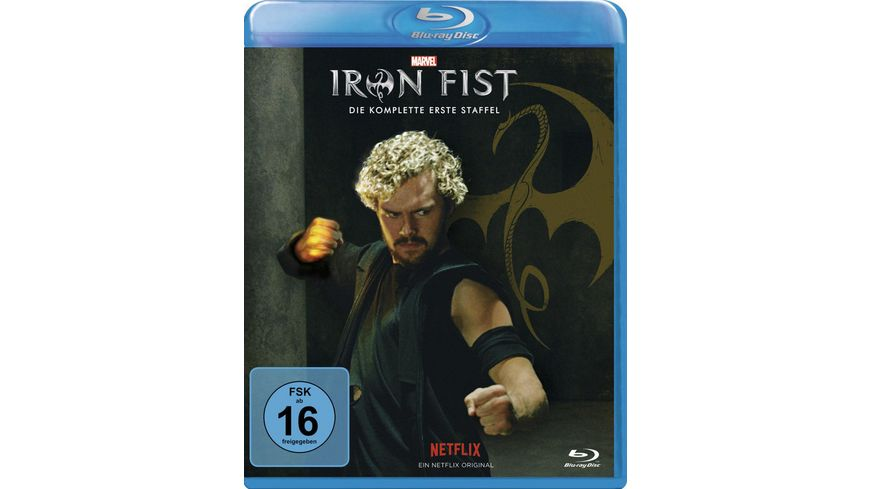 Marvel s Iron Fist Die komplette 1 Staffel 4 BRs