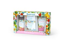 BARFUSS Tropical Dream Limited Edition Fussbad Fusspeeling Fussmaske Fussbalsam