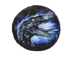 Joy Toy Jurassic World 2 Rundes Plueschkissen blau