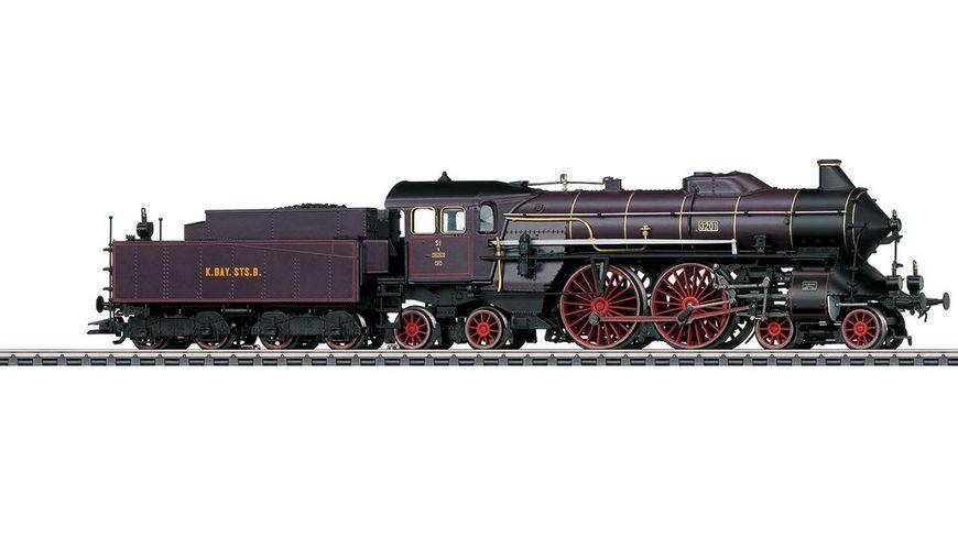 Maerklin 37018 Schnellzug Dampflokomotive S 2 6