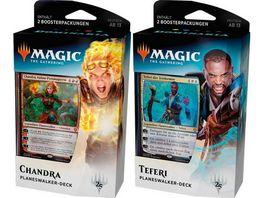 Magic the Gathering Dominaria Planeswalker Deck sortiert