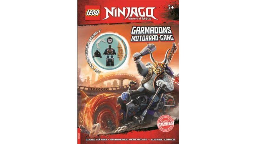 LEGO NINJAGO Garmadons Motorrad Gang