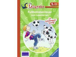 Ravensburger Fussballabenteuer zum Lesenlernen