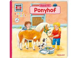Was ist Was Kindergarten Band 10 Ponyhof