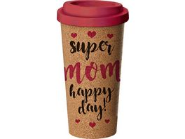 Coffee to go Becher Corky Cup Super Mom