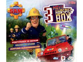 Feuerwehrmann Sam Movie Hoerspiel Box 3 CDs