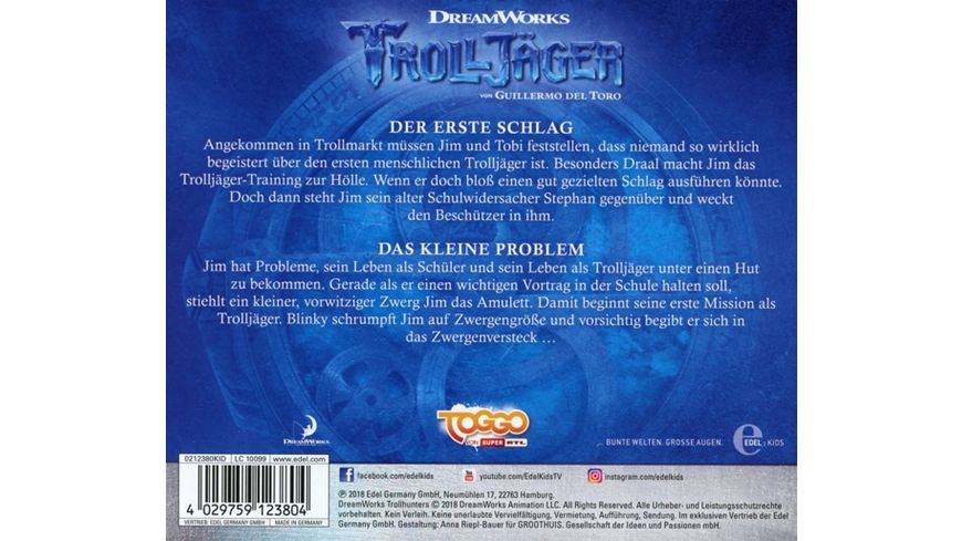 2 Original Hoerspiel z TV Serie Der Erste Schlag