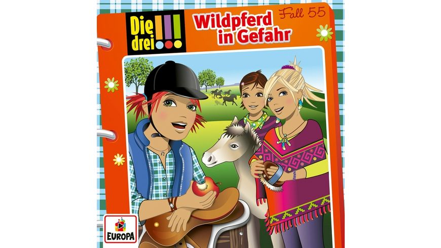 055 Wildpferd in Gefahr