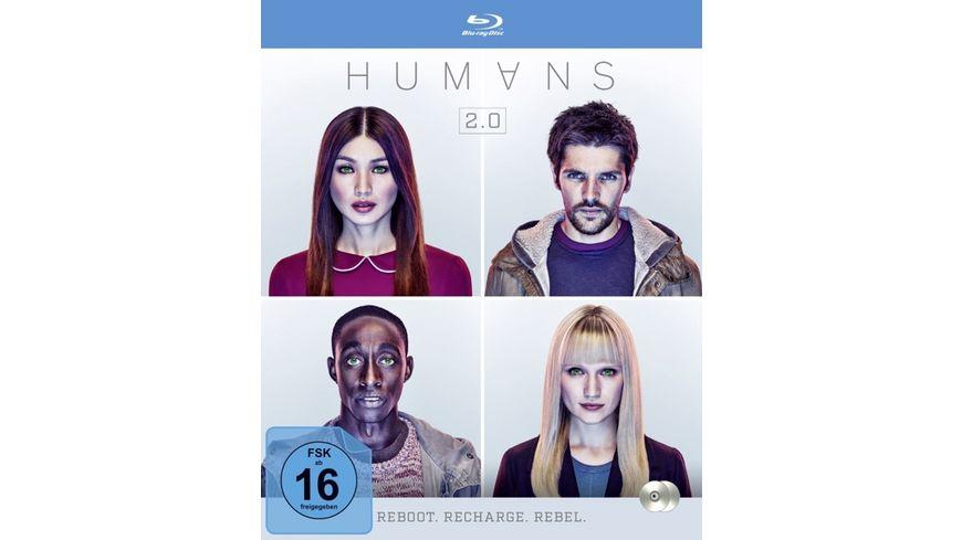 Humans Die komplette Staffel 2 2 BRs