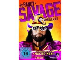 Randy Savage Unreleased The Unseen Matches of the Macho Man 3 DVDs