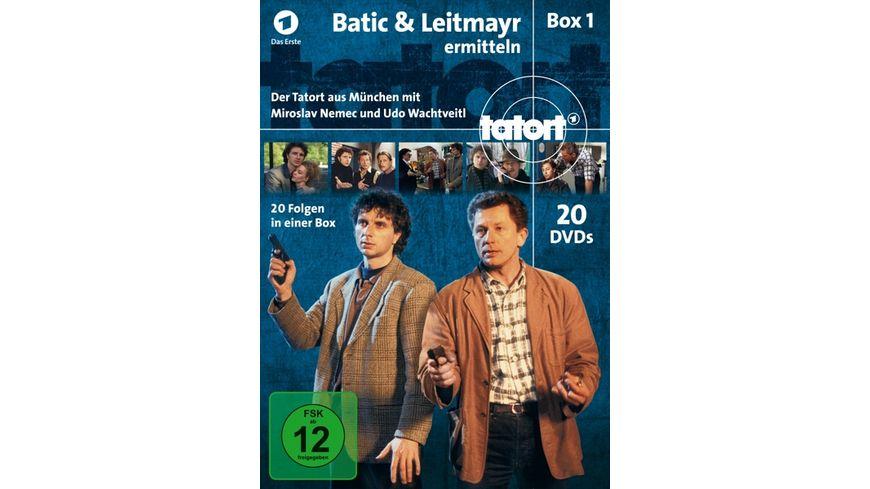 Tatort Batic Leitmayr ermitteln Box 1 1 20 20 DVDs