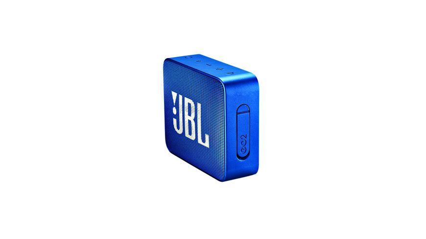 JBL GO 2 Bluetooth Lautsprecher blau