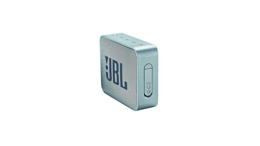 JBL GO 2 Bluetooth Lautsprecher grau