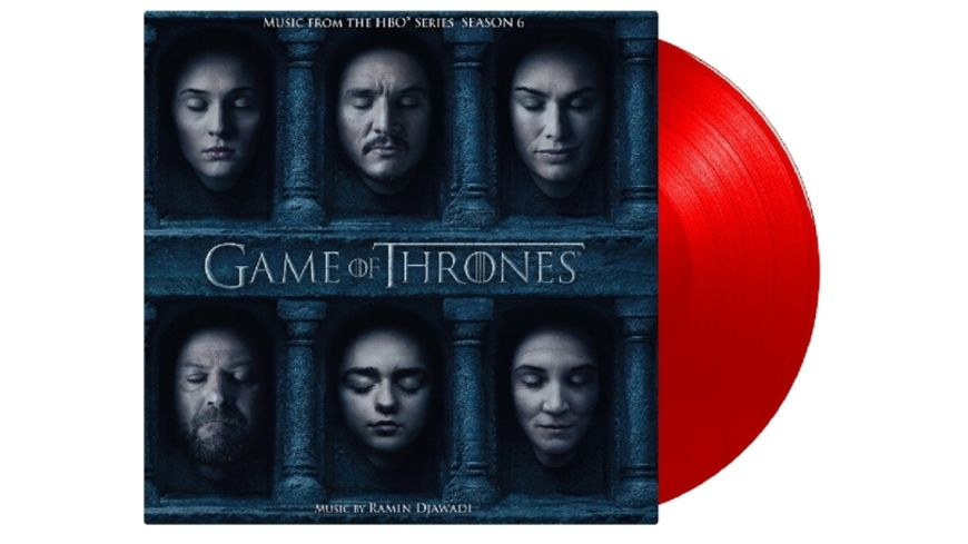 Game Of Thrones 6 ltd Tour Edition rotes Vinyl