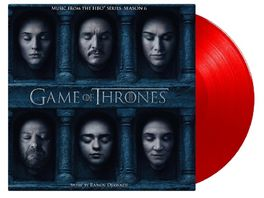 Game Of Thrones 6 ltd Tour Edition rotes Vinyl