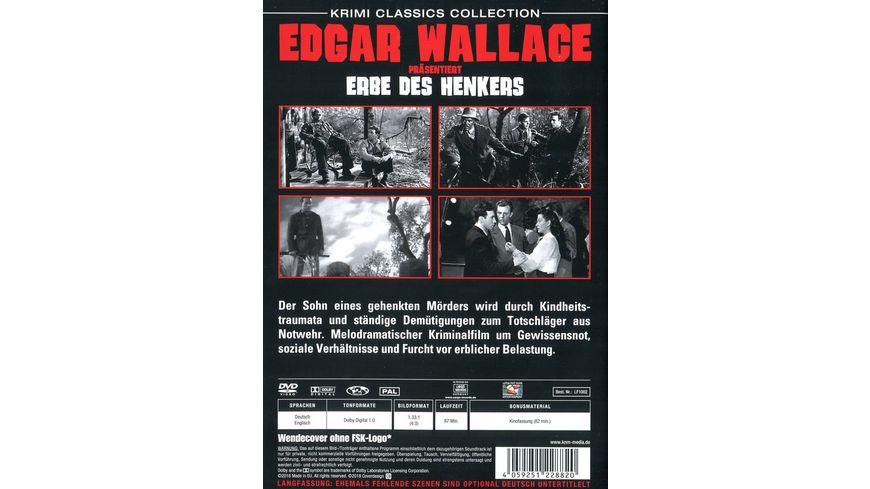Edgar Wallace praesentiert Erbe des Henkers