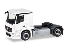 Herpa 13291 Herpa MiniKit Mercedes Benz Actros Classicspace 2 3 Zugmaschine weiss