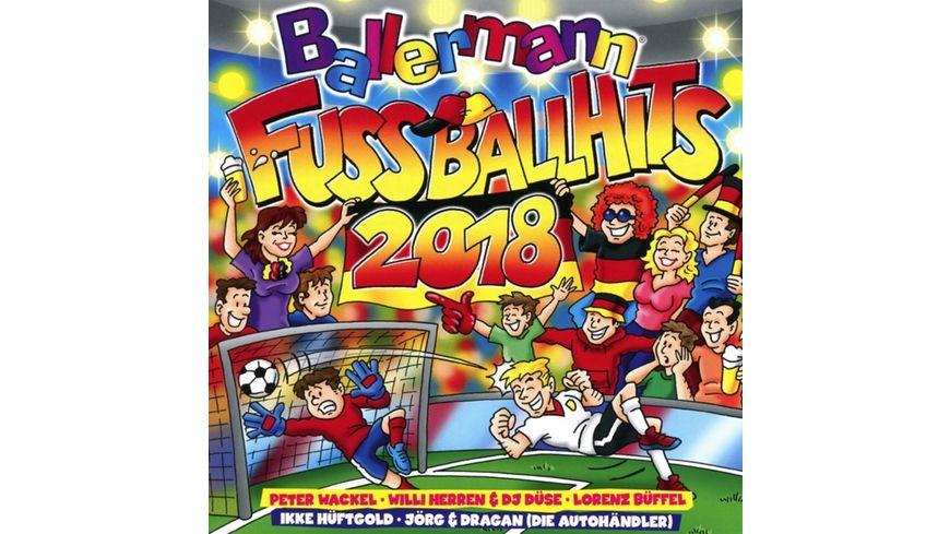 Ballermann Fussball Hits 2018