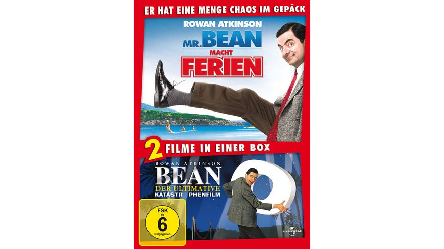Mr Bean macht Ferien Bean Der ultimative Katastrophenfilm 2 DVDs