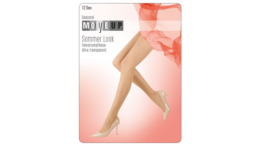 MOVE UP Feinstrumpfhose Sommer Look 12